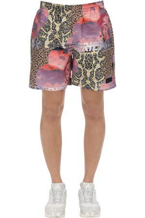PAM PERKS AND MINI Lifestyle Animal Nylon Swim Shorts