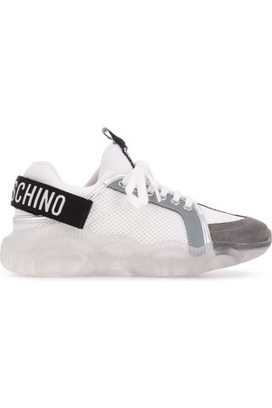Moschino Teddy mesh-panel sneakers