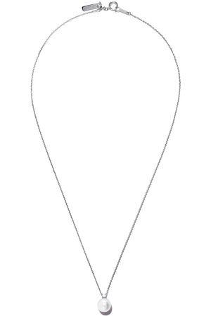 TASAKI Women Necklaces - 18kt white gold Akoya pearl and diamond pendant