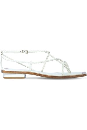 CULT GAIA 10mm Juno Leather Thong Sandals