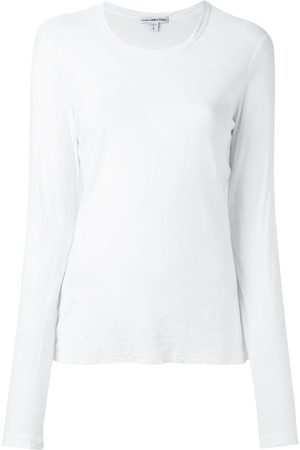 James Perse Round neck longsleeved T-shirt