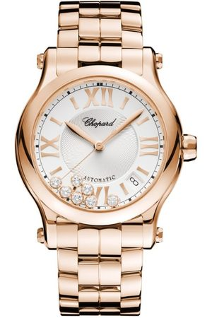 Chopard Rose and Diamond Happy Sport Automatic Watch 36mm
