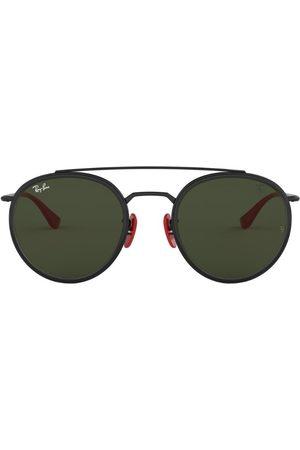 Ray-Ban Scuderia Ferrari Round Aviator Sunglasses