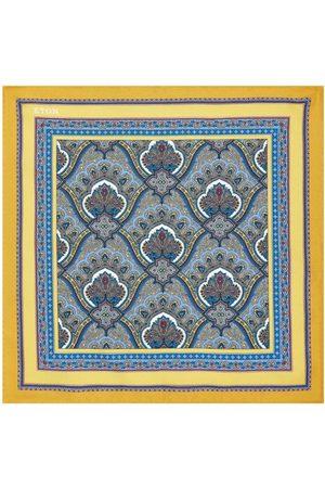 Eton Men Pocket Squares - Silk Paisley Pocket Square