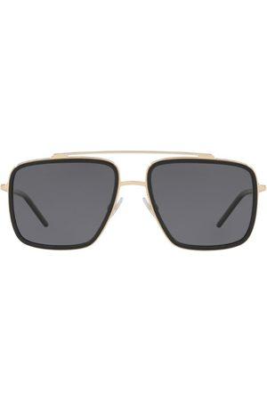 Dolce & Gabbana Square Metal Sunglasses