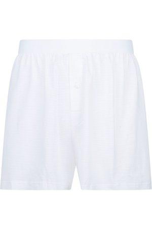 Sunspel Cellular Cotton Boxer Shorts
