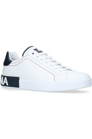 Dolce & Gabbana Men Trainers - Portofino Logo Sneakers
