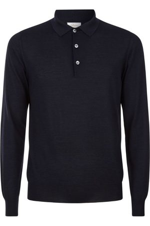 BRIONI Fine Knit Polo Shirt