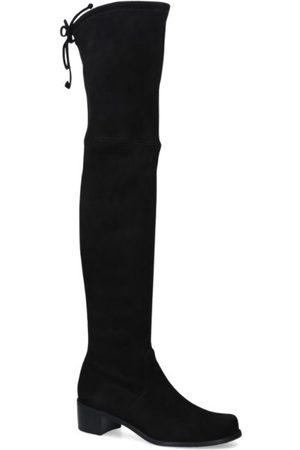 Stuart Weitzman Suede Midland Over-The-Knee Boots