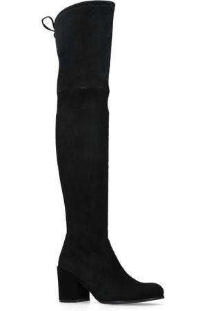Stuart Weitzman Suede Tieland Over-The-Knee Boots 70