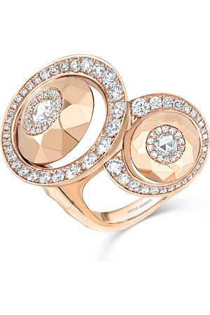David Morris Rose Cut Forever Between-The-Finger Ring