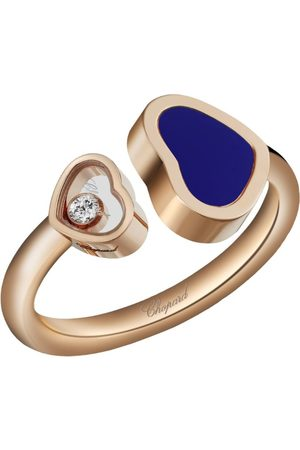 Chopard Rose and Stone Happy Hearts Ring