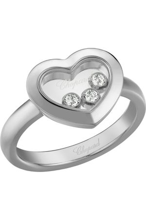 Chopard White Happy Diamonds Icons Heart Ring