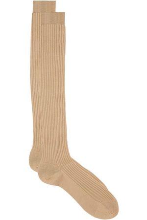 Pantherella Ribbed Cotton Socks