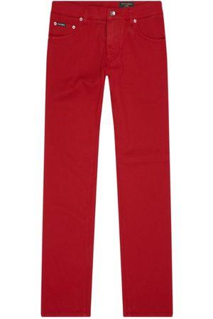 Dolce & Gabbana Stretch Cotton Trousers