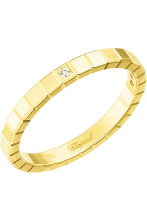 Chopard Yellow and Diamond Ice Cube Pure Ring