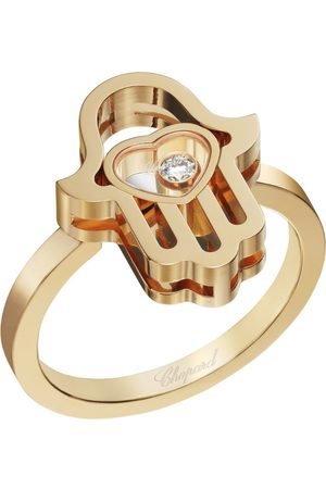 Chopard Women Rings - Rose Happy Diamonds Good Luck Charms Ring