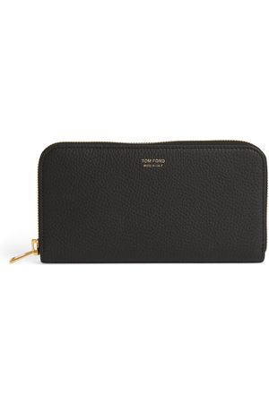 Tom Ford Grained Leather Continental Wallet