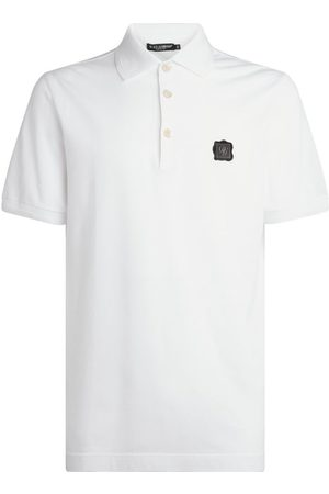 Dolce & Gabbana Men Polo Shirts - Logo Polo Shirt