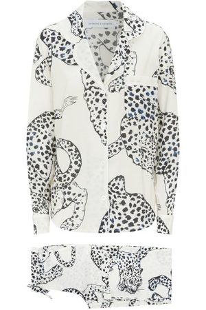 Desmond & Dempsey Women Pyjamas - Jaguar Print Long Pyjama Set