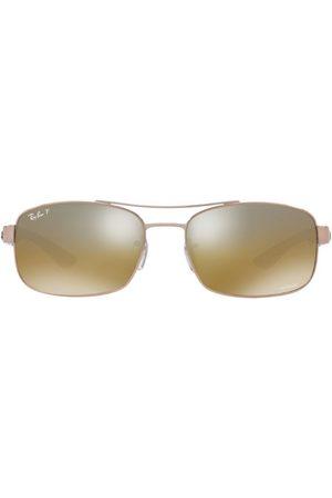 Ray-Ban Rectangular Chromance Sunglasses