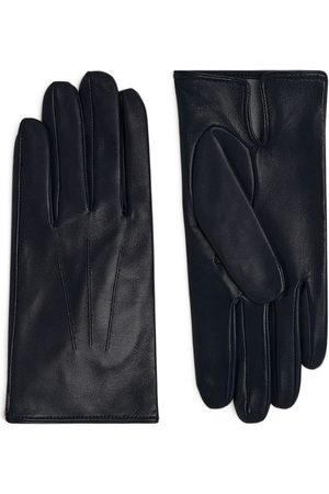 Dents Leather Silk-Lined Gloves