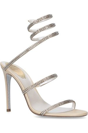 RENÉ CAOVILLA Jewel Seraphanite Sandals 105