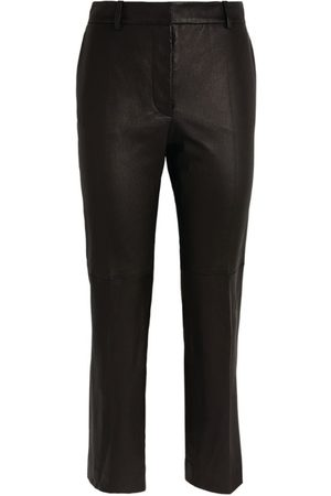 Joseph Coleman Stretch Leather Trousers