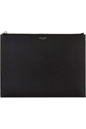 Saint Laurent Men Tablets - Grained Leather Tablet Case