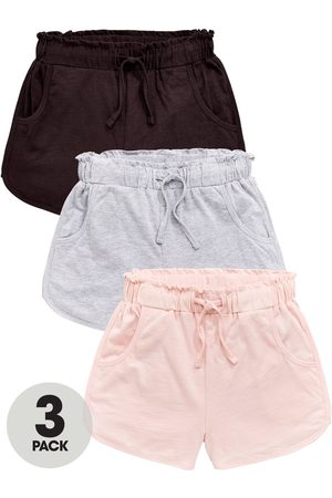 Very Girls 3 Pack Frill Trim Jersey Shorts