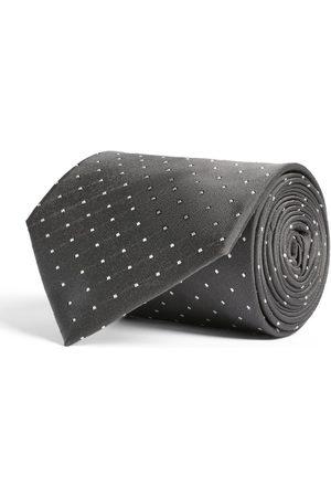 Ralph Lauren Silk Miniature Polka-Dot Tie