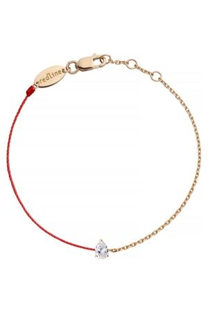 Redline Women Watches - 18ct Rose Gold And Diamond Chain And Thread Beacelet