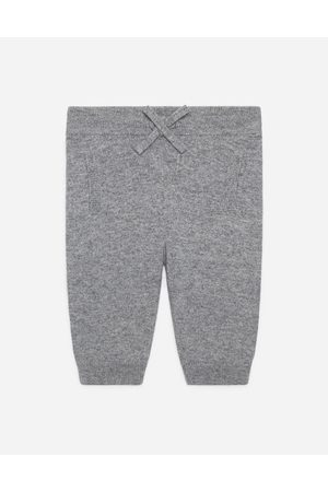 Dolce & Gabbana Collection - CASHMERE JOGGING PANTS WITH HERITAGE EMBROIDERY