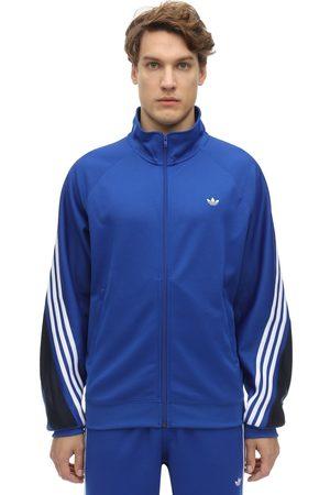 adidas 3-striped Wrap Logo Track Sweatshirt