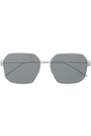 Bottega Veneta Eyewear BV1047S hexagonal-frame sunglasses
