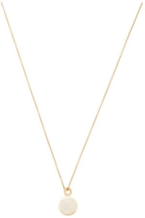 SOPHIE BILLE BRAHE Perle Simple Akoya Pearl & 14kt Gold Necklace - Womens - Pearl
