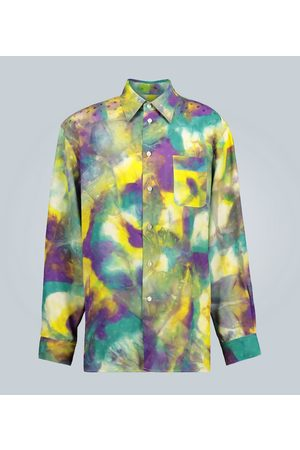Marni Tie-dye shirt with logo