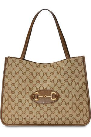Gucci 1955 Horsebit tote bag - Neutrals