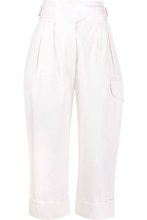 See by Chloé City straight-leg cargo trousers - Neutrals
