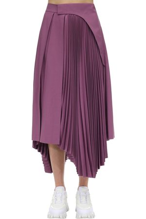 AMBUSH Pleated Cool Wool Skirt