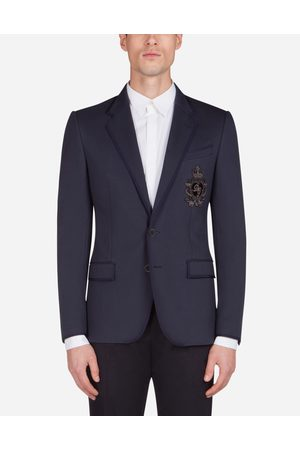 Dolce & Gabbana Men Jackets - Collection - JERSEY JACKET WITH PATCH