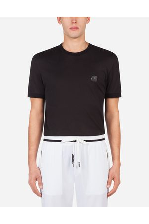 Dolce & Gabbana Collection - COTTON T-SHIRT WITH PATCH