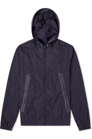 Moncler Men Jackets - Garment Dyed Hooded Lined Windbreaker