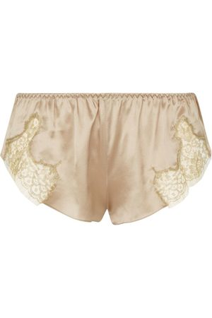 Gilda & Pearl Satin Lace Shorts