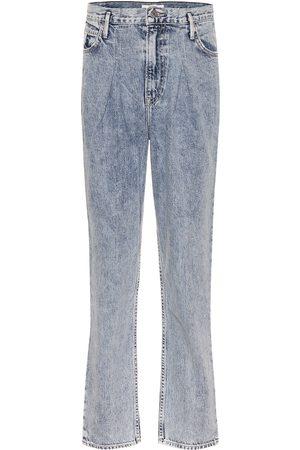 GRLFRND Teagan high-rise straight jeans
