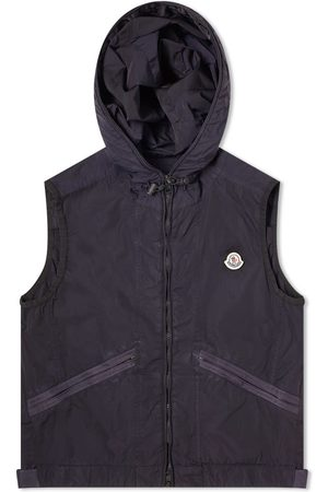 Moncler Touques Hooded Garment Dyed Gilet