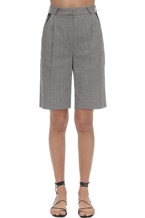 COPERNI Women Bermudas - Loose Cotton Bermuda Shorts