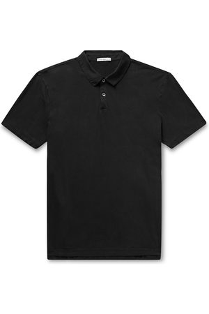 James Perse Men Polo Shirts - Supima Cotton-Jersey Polo Shirt