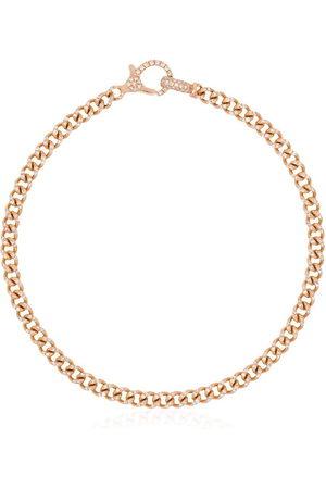SHAY Women Bracelets - 18kt rose gold pavé diamond 7.5 inch link bracelet - METALLIC