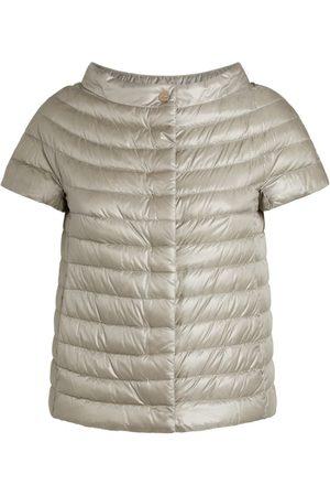 HERNO Margherita Short-Sleeved Puffer Jacket
